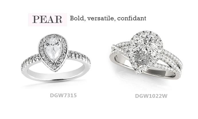 Pear Engagement Ring Dallas, TX