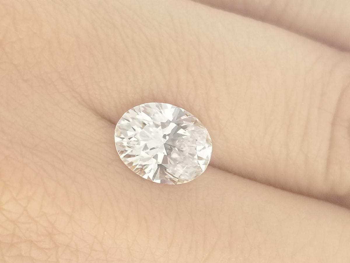 sell oval cut diamond